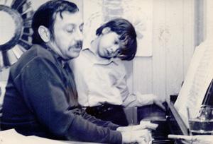 Pianist, composer, and educator Arturo O'Farrill and Chico O'Farrill